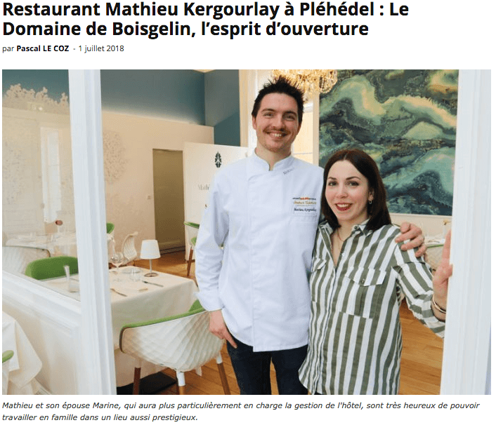 article le flaneur Mathieu Kergourlay