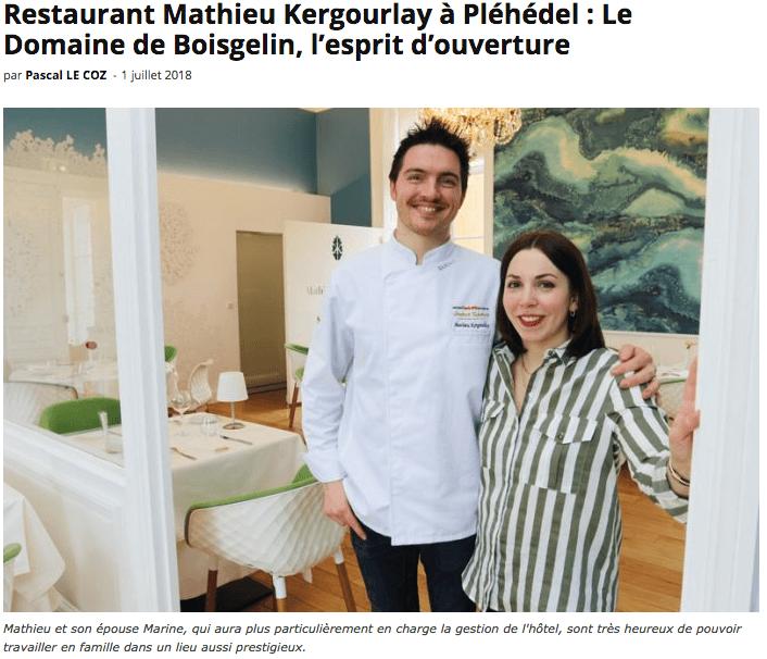 article le flaneur Mathieu Kergourlay